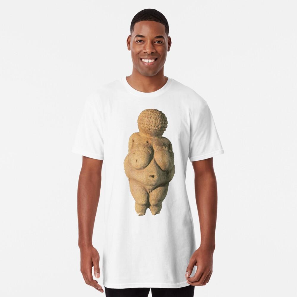#Venus of #Willendorf #artifact sculpture art figurine statue humanbody #VenusofWillendorf Long T-Shirt