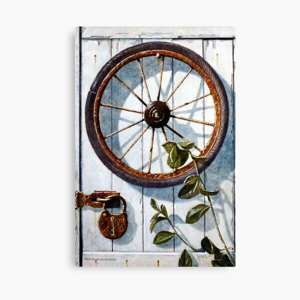 The Rim of the Wheel Canvas Print