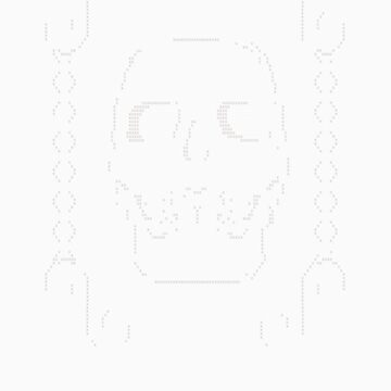 Skull and Cross Stitch by bombadeo