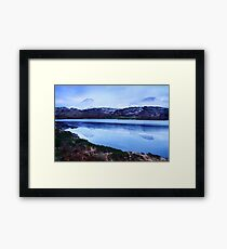 snowy mountains-Kerry Framed Print