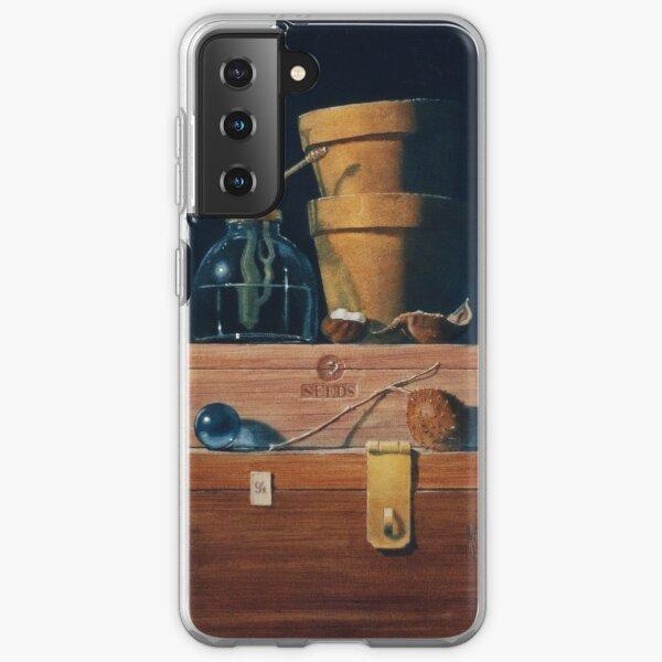 Small Blue Ball Samsung Galaxy Soft Case