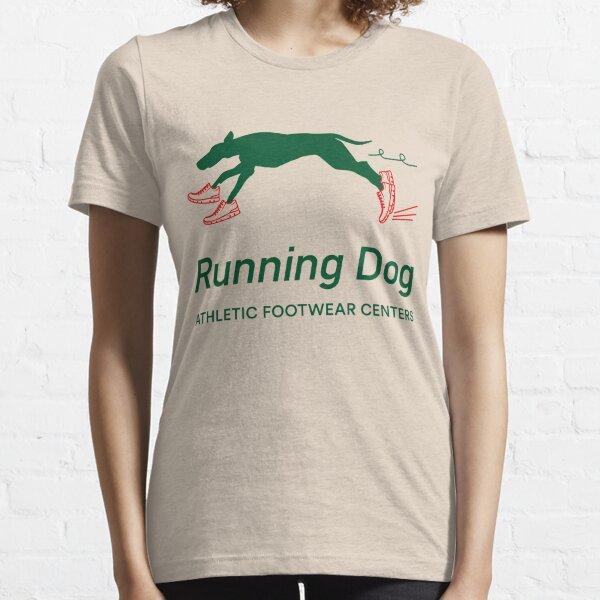Running Dog Athletic Footwear Centers © 1983 Essential T-Shirt
