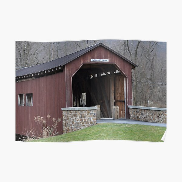 Fort Hunter Covered Bridge Poster