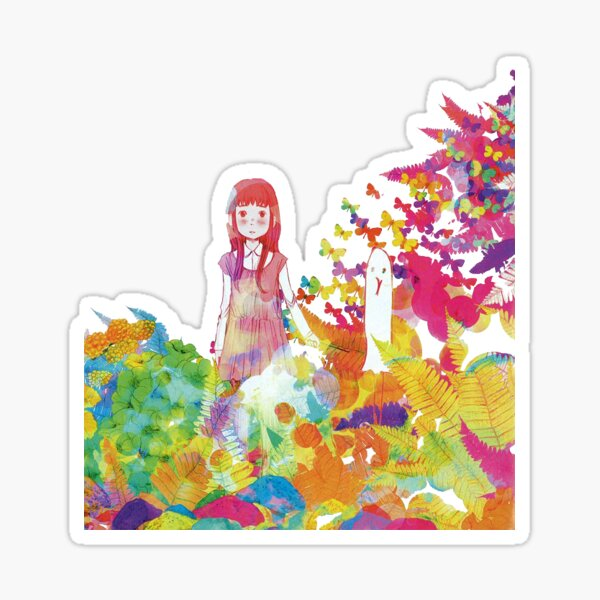 Oyasumi PunPun Rainbow Pegatina