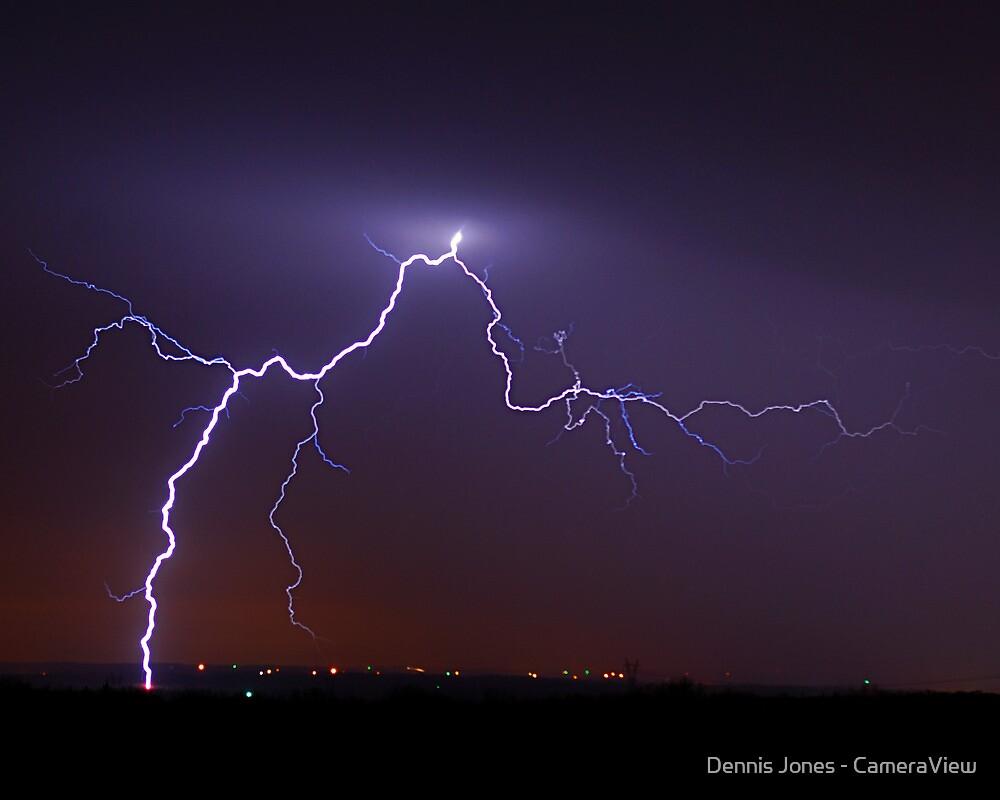 January Lightning by Dennis Jones - CameraView