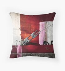 Turnbuckle Throw Pillow