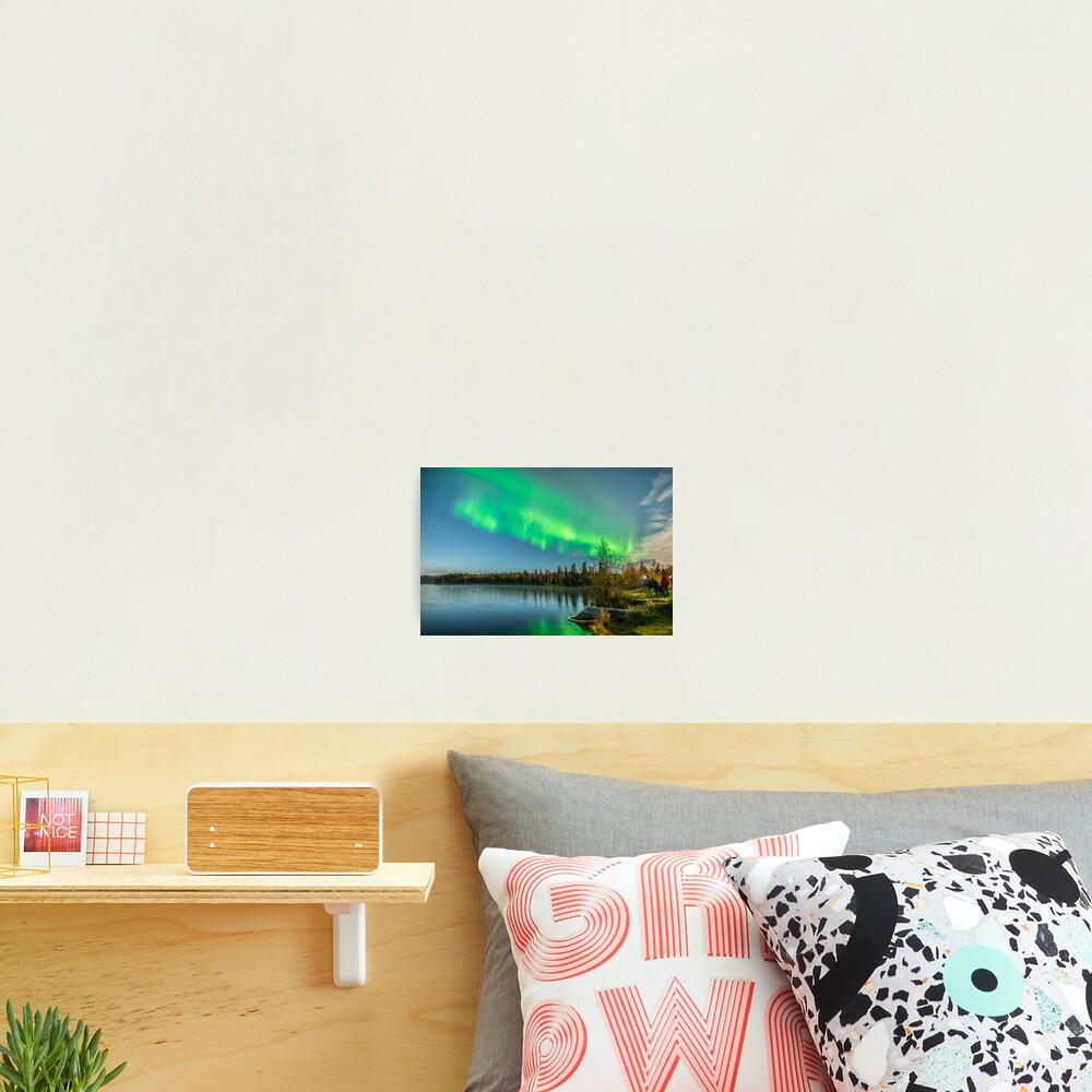 Aurora Hunters Achieve Success Photographic Print
