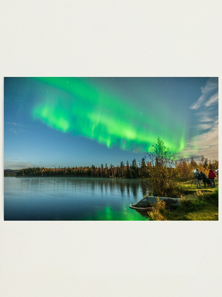 Alternate view of Aurora Hunters Achieve Success Photographic Print