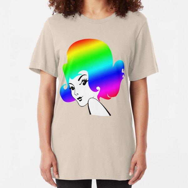 Rainbow Head Slim Fit T-Shirt