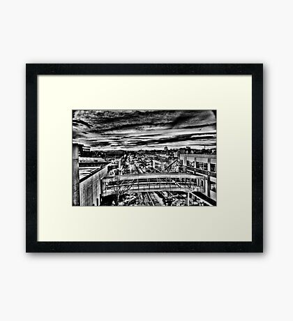 Downtown Salem Oregon Framed Print