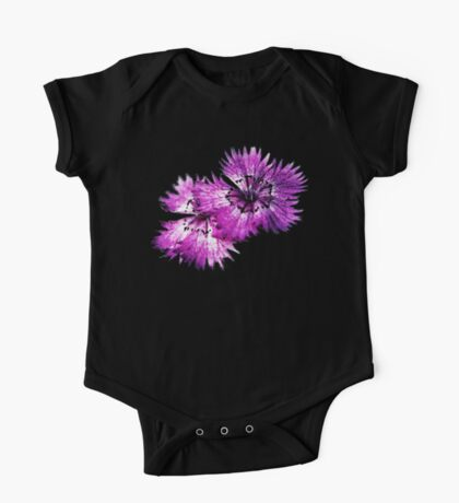 Dianthus (T-Shirt), dark, watercolor effect Kids Clothes