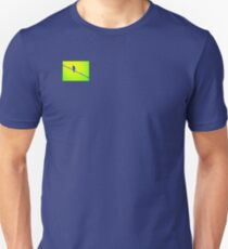 Bluebird on Wire Unisex T-Shirt
