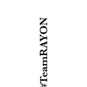 #TeamRAYON phone case by ieatmusic