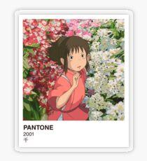 PANTONE SEN Transparent Sticker