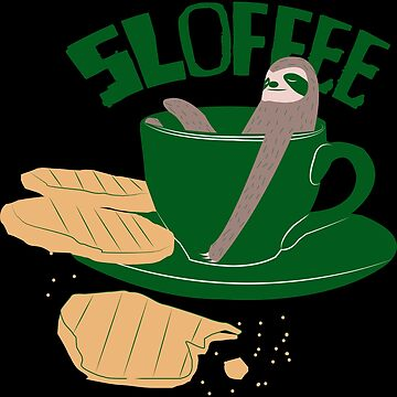 Sloth in coffee cup by themd-haendler
