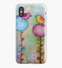 Birds in the Garden  iPhone Case