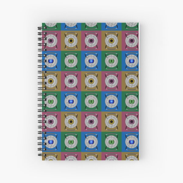 Personality Core Pop Spiral Notebook
