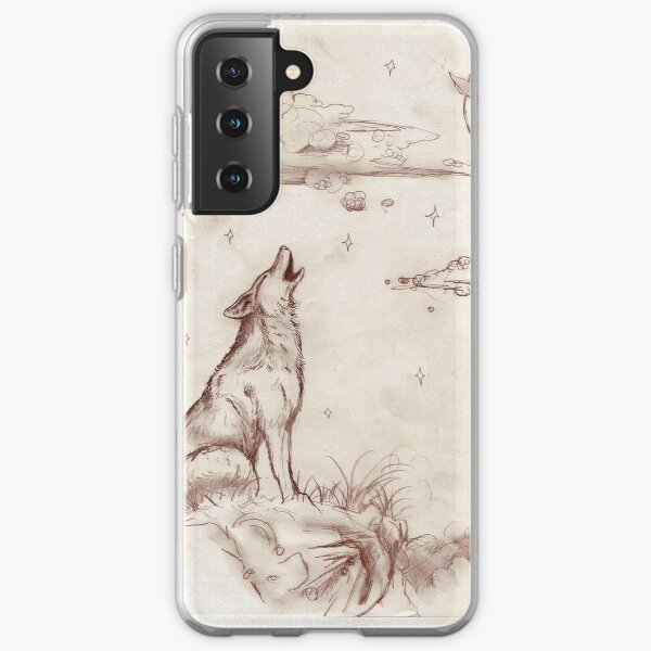 Coyote Wolf Dog Hound Puppy Canine Dog Wolves Samsung Galaxy Soft Case