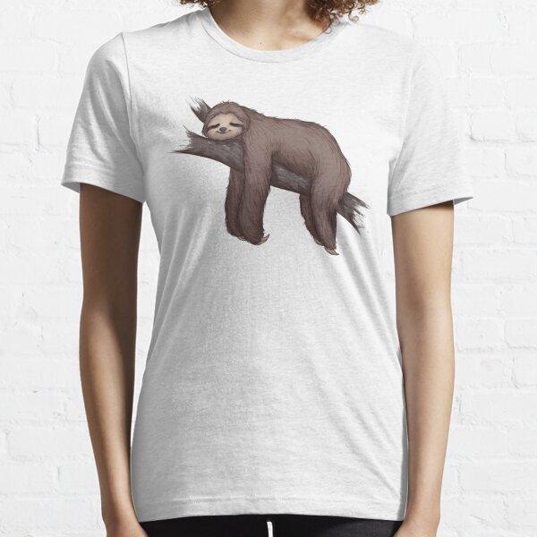 Sleepy Sloth Essential T-Shirt