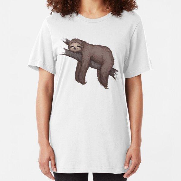 Sleepy Sloth Slim Fit T-Shirt