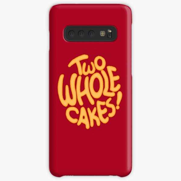 Two Whole Cakes! (Round) Samsung Galaxy Snap Case