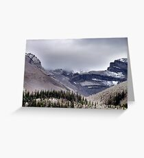Mountains in the Mist Greeting Card