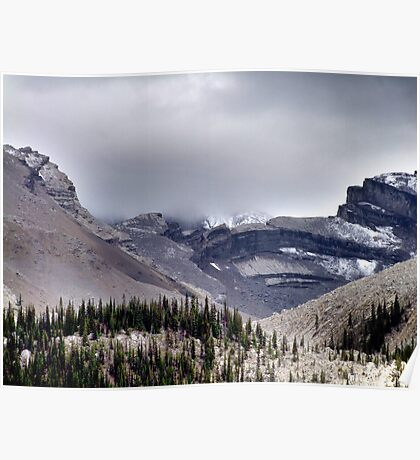 Mountains in the Mist Poster