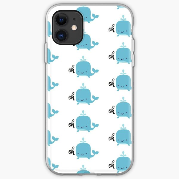 Oh Whale iPhone Soft Case