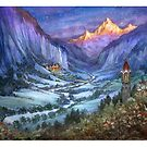 The Hidden Valley in Winter by BohemianWeasel