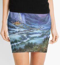 The Hidden Valley in Winter Mini Skirt