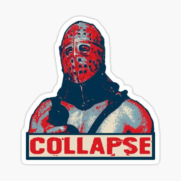 Humungus Collapse moa_wearemoa Sticker