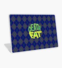 Death Fat Skull (Round) Laptop Skin