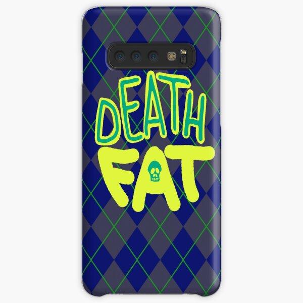 Death Fat Skull Samsung Galaxy Snap Case