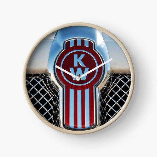 Kenworth emblems Clock