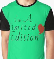 Camiseta gráfica Soy edición limitada t-shirt