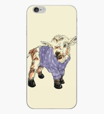Baby goat in a sweater  iPhone Case