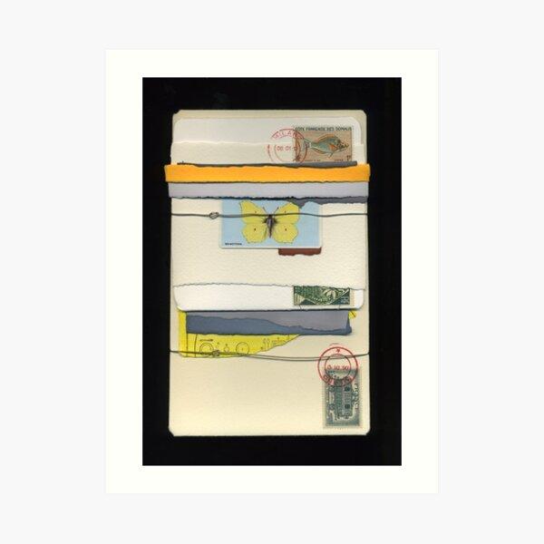 Letter Bundle: Brimstone Art Print