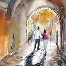 Archway in Germany by Shirlroma