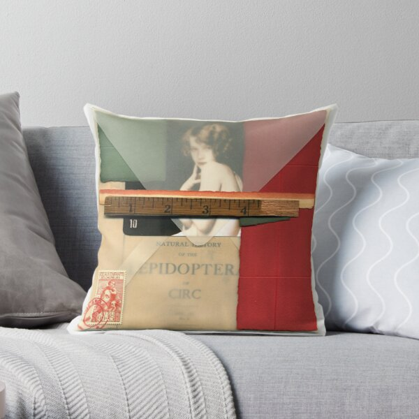 Letter from The Isle of Circ Throw Pillow