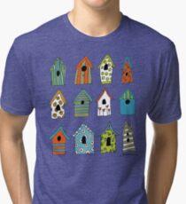 bird houses Tri-blend T-Shirt