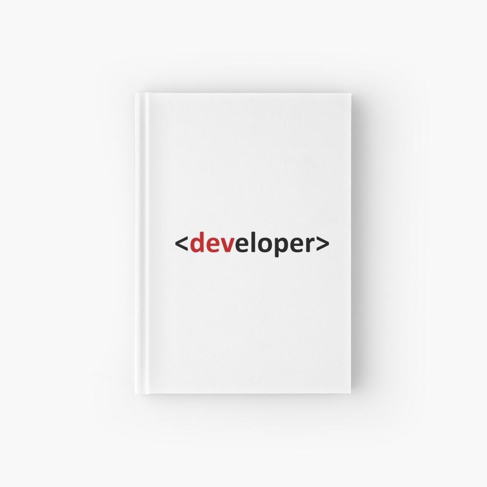 Developer Cuaderno de tapa dura