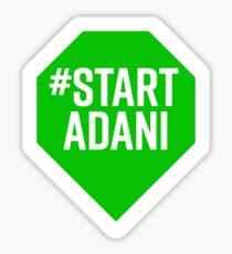 Starten Sie Adani Sticker