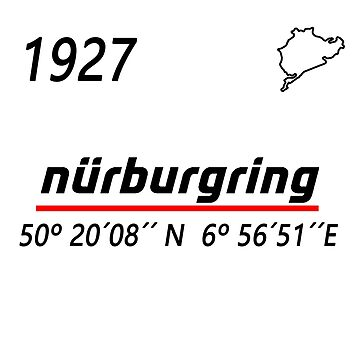 nüburgring by camisetascharly