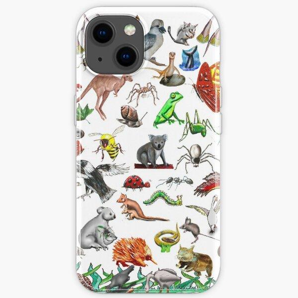 Australian animals 3 iPhone Soft Case