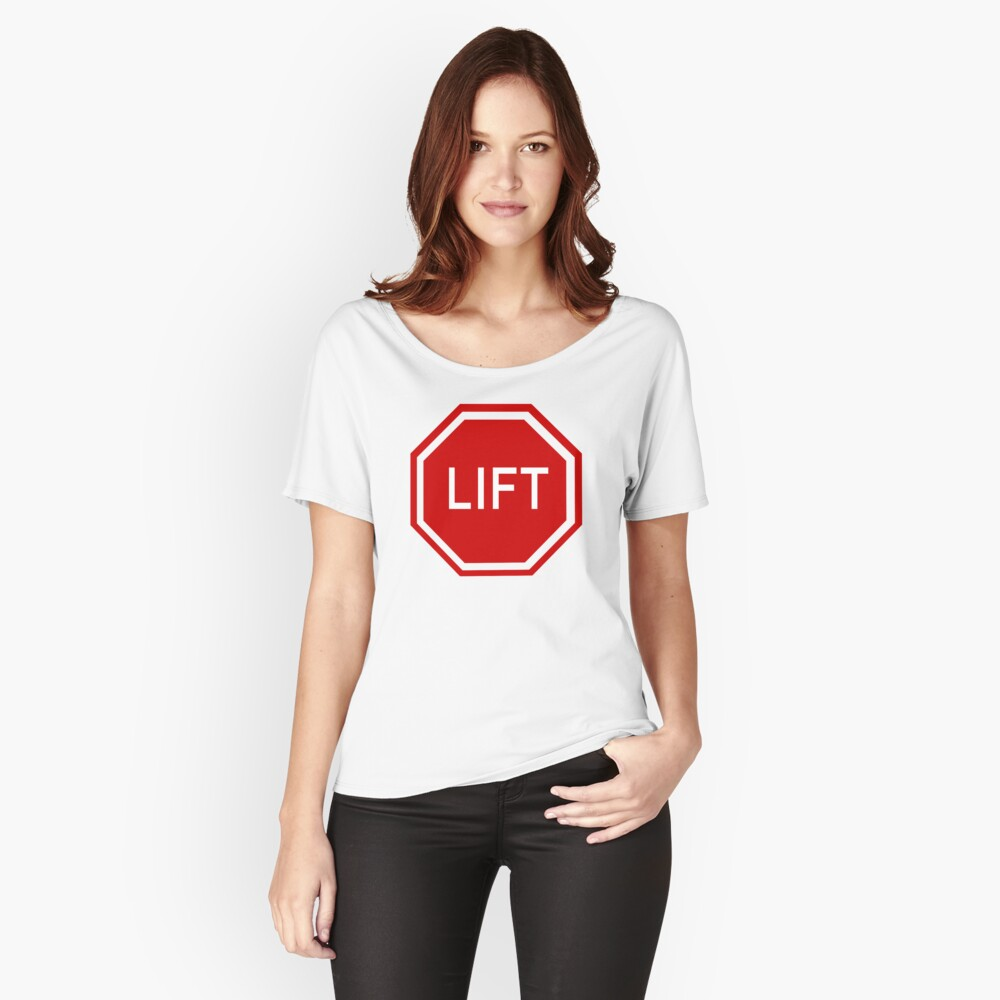 Lift Women's Relaxed Fit T-Shirt Front