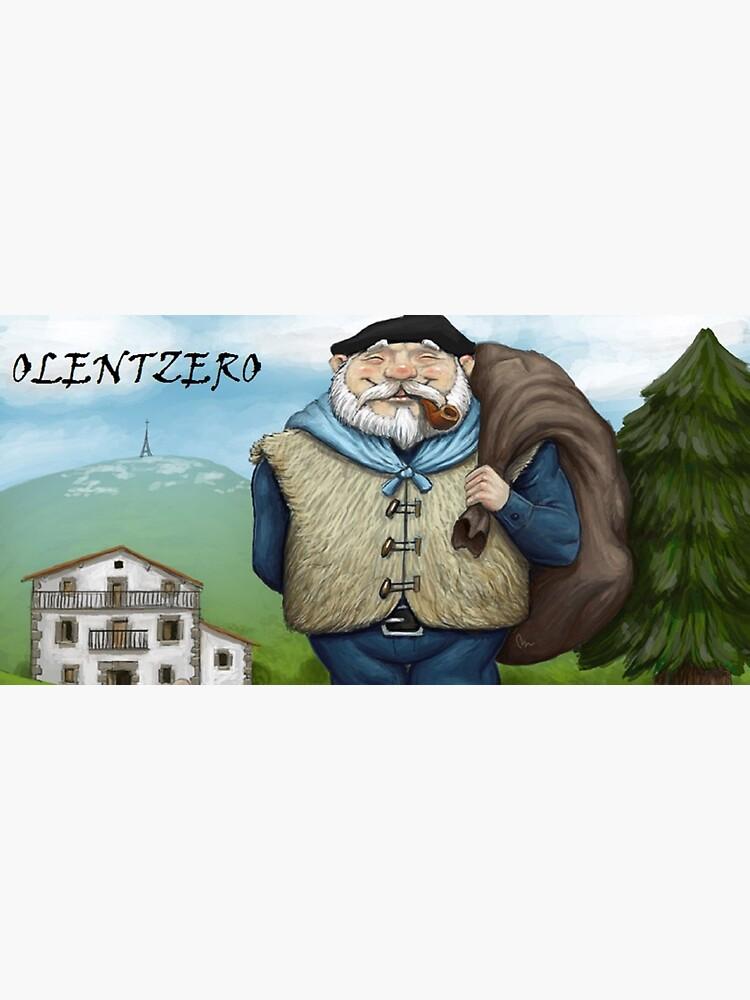 Olentzero Merry Christmas by Lutecia-Appia
