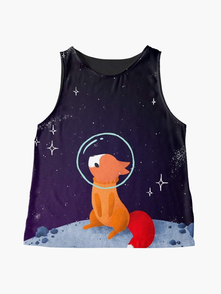 Alternate view of Somewhere Out There Sleeveless Top