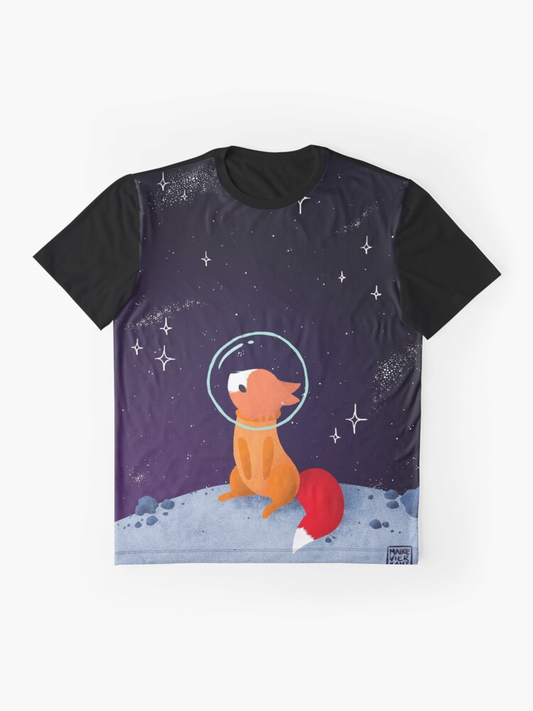 Alternate view of Somewhere Out There Graphic T-Shirt