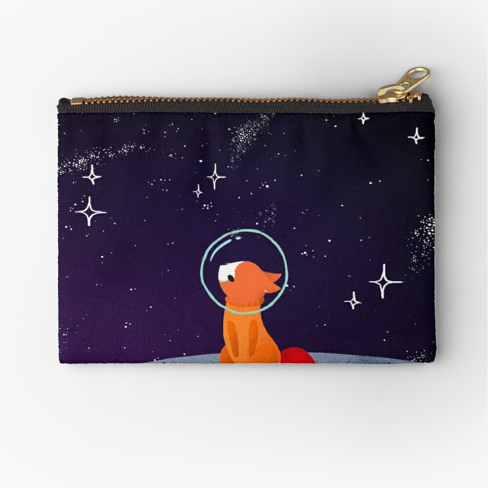 Somewhere Out There Zipper Pouch