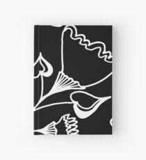 Folk Art in Schwarz Weiß Notizbuch